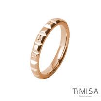 【TiMISA】濃情巧克力(雙色可選)  純鈦戒指