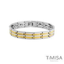 【TiMISA】豐收之歌) -寬版 純鈦鍺手鍊(兩色可選)