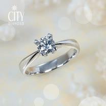 City Diamond『我的寶貝』30分鑽戒