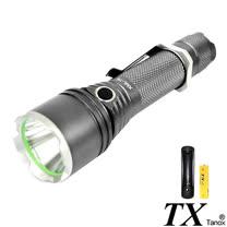 【特林TX】美國CREE T6 LED陶瓷開關鐵灰手電筒(TK-2015-1B)