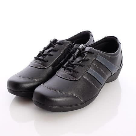 日本製輕熟男女機能鞋-輕熟女休閒鞋-EVE222CA6黑(22.5cm-24.5cm)