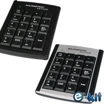 逸奇e-kit 超薄19鍵USB商用數字鍵盤_NK-018
