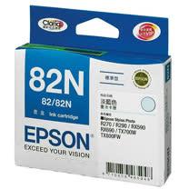 【EPSON】T112550 82N 原廠淡藍色墨水匣