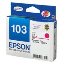 【EPSON】T103350 103 原廠高容量紅色墨水匣