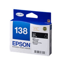 【EPSON】T138150 138 原廠黑色高印墨水匣