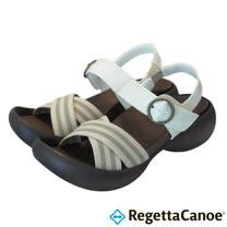 RegettaCanoe _(女款)CJEG-5221優雅樂步休閒鞋-象牙白