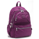 【法國盒子】超輕量多隔層後背包(紫紅)985