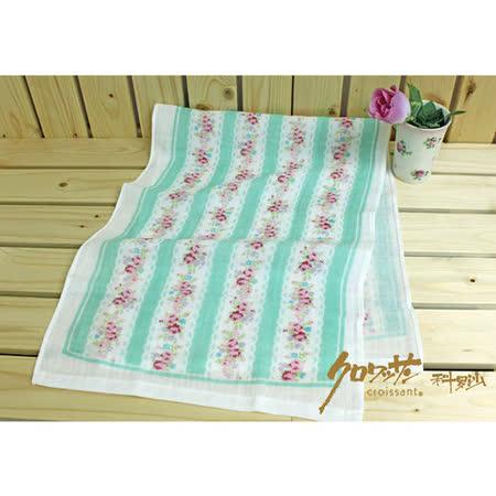 【クロワッサン科羅沙】日本毛巾~Japanese style 「Hana」香味蕾絲花邊玫瑰 毛巾34*90 cm