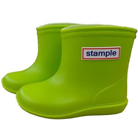 日本製 stample兒童雨鞋-青蘋果綠色