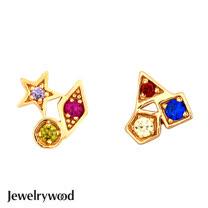 Jewelrywood 純銀好萊塢星光大道耳環