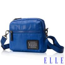 ELLE 法式優雅休閒 CollectionII系列 輕細尼龍防潑水-海藍EL83453-42