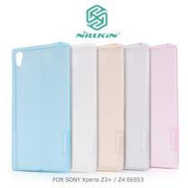 NILLKIN SONY Xperia Z3+/Z4 E6553 本色TPU軟套