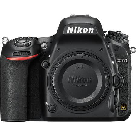 Nikon  D750 單機身-全片幅數位單眼相機(公司貨)-送64G 記憶卡+原廠電池+吹球清潔組+專用快門線+減壓背帶+專用相機包+熱靴蓋水平儀+皮質手腕帶