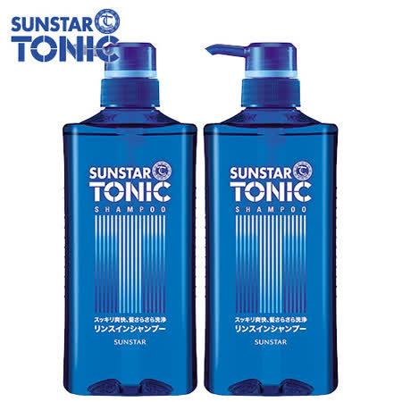 TONIC 頭皮清爽雙效洗髮精 520ml(藍瓶) x 4入
