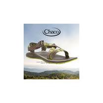 【美國 Chaco】女款 戶外休閒涼鞋.耐磨.排流.止滑.適沙灘.溯溪.健行/ CH-ETW23H960 (漸層綠)