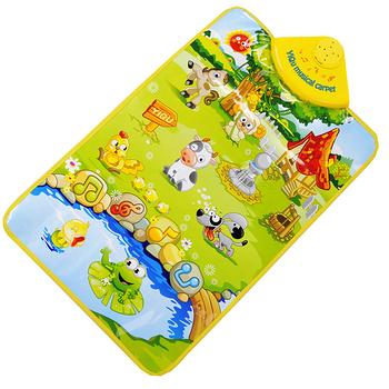 兒童多功能音樂地毯 遊戲地毯-3款