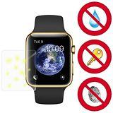 D&A Apple Watch (42mm)日本NEW AS玻璃奈米5H 螢幕保護貼(超值2入)