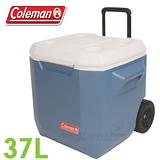【速捷戶外】美國Coleman CM-02115 XTREME 37L 拖輪冰箱 5 保冷桶/保冰桶/飲料筒