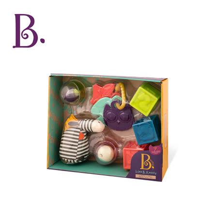 【美國B.Toys感統玩具】捲尾斑馬玩瘋了