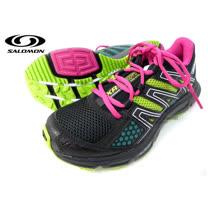 【索羅門 SALOMON】女款 XR SHIFT W 輕量野跑運動鞋 /綠-桃紅 328398