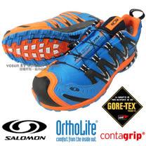 【索羅門 SALOMON】男新款 XA PRO 3D Ultra 2 Gore-Tex 專業防水透氣越野跑步運動鞋_亮藍 359360