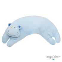 美國 Angel Dear 曲線動物大枕頭 (藍色河馬)