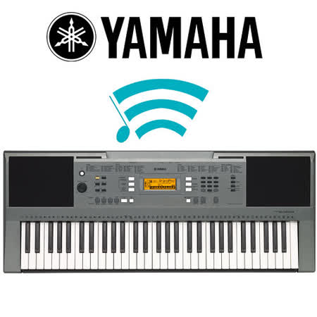 【YAMAHA 山葉】標準61鍵手提式電子琴 公司貨保固 (PSR-E353)