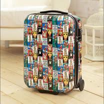 PLAYBOY- Luggage 系列 18吋硬殼旅行箱-花色