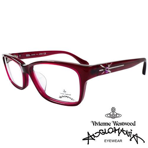 Vivienne Westwood 英國Anglomania 款俏皮土星光學眼鏡 紅紫 A