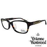 Vivienne Westwood 英國薇薇安魏斯伍德華麗潮流感滿天土星光學眼鏡(咖琥珀)VW31402