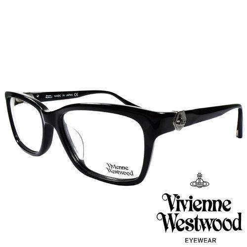 Vivienne Westwood 英國薇薇安魏斯伍德金屬土星~立體曲線光學眼鏡 黑 VW