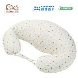 日本 Sandexica森德西卡 升級加長版 機能型新創顆粒授乳枕/側睡枕/寶寶學坐枕 -彩色點點【FA0002】