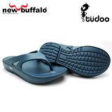 【new buffalo】土豆星球tudoo動態平衡人字拖-布魯號/藍