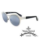 Vivienne Westwood 英國Anglomania太陽眼鏡★金屬時尚設計★(銀)