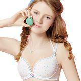 【思薇爾】惹萌漾甜美風系列A-C罩壓模軟鋼圈內衣(白色)