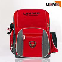 【UnMe】超級護脊後背書包(紅色)