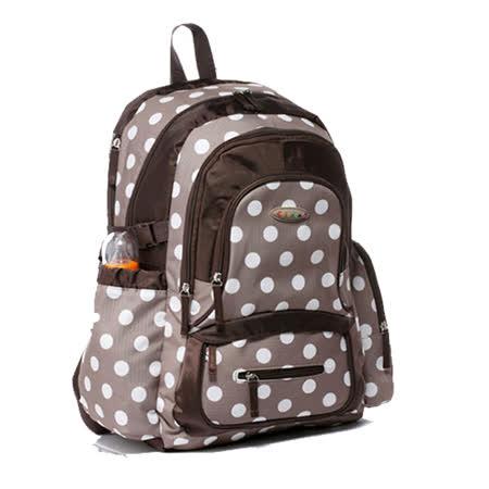 台灣經銷商【MD0005】歐美機能型+舒壓媽媽後背包3+1層收納空間附尿墊(可置平板電腦包)
