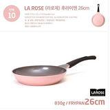 【韓國Chef Topf】 玫瑰鍋/薔薇鍋LA ROSE系列26公分不沾平底鍋FP-26
