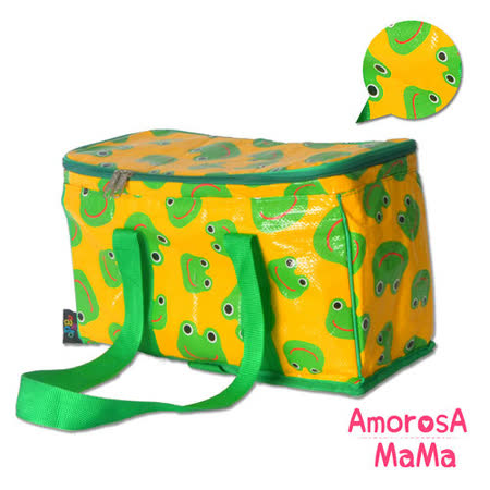 【Amorosa Mama】媽咪多用手提式保冷保溫袋/野餐包/保鮮袋 (青蛙)