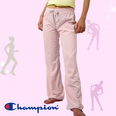 Champion長褲【F4粉紅色】˙版型超優˙褲腳有束繩