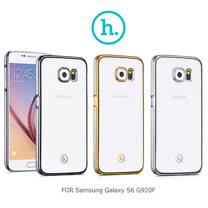 HOCO Samsung Galaxy S6 G920F 透明電鍍殼