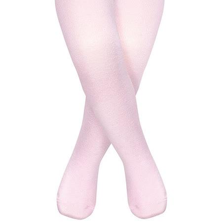 英國 JoJo Maman BeBe 柔細寶寶兒童內搭褲襪/保暖襪_淡粉(JJT005)