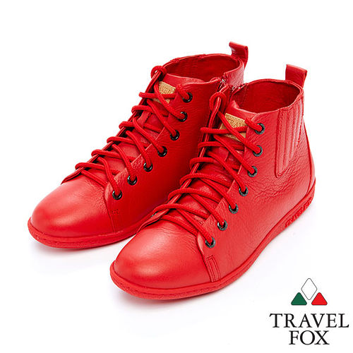 女Travel Fox 奇蒙高統休閒鞋915384 紅~04