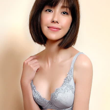 【Audrey】魔塑3D美膚 大罩杯B-E罩內衣(星晨灰)