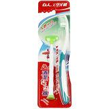 $99特價售完為止【白人工學牙刷送清潔舌苔器組X3組】**顏色隨機出貨**