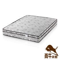 【尚牛床墊】三線高級緹花布硬式彈簧床墊(18mm釋壓棉)-單人3尺