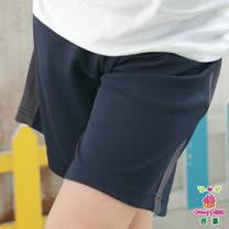 【Anny pepe】男童家居五分褲/藍_Modal吸濕排汗款