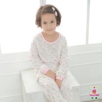 【Anny pepe】女童桃子冷氣衫/米白_Modal吸濕排汗款