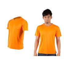 (男女) HODARLA 激膚無感衣 涼感短T恤-0秒吸排抗UV輕量吸濕排汗無著感 橘(品特)