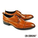 【CR CERINI】歐風橫飾德比紳士鞋 棕色(73702-BR)